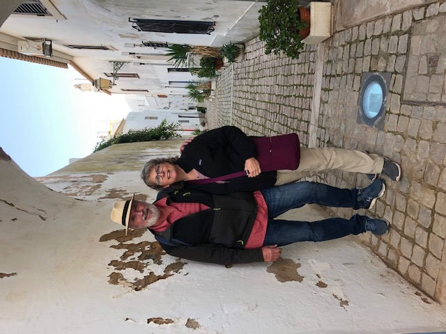 Brian and Brenda on an RV adventure in Europe